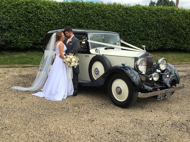 Wedding Car Hire London 1936 Vintage Rolls Royce Wedding Car