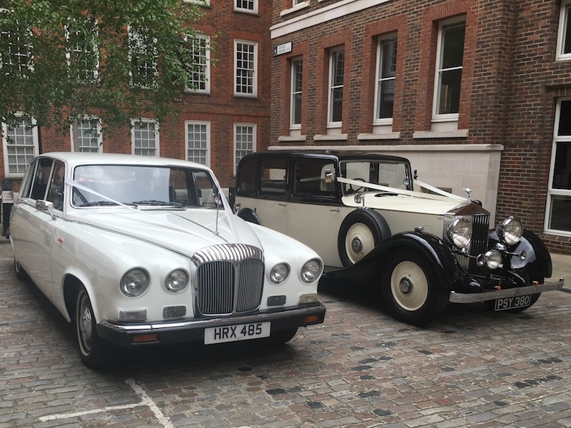 1936 Vintage & DS420 Daimler Limousine