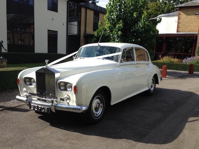 1963 Silver Cloud LWB Rolls Royce Wedding Car