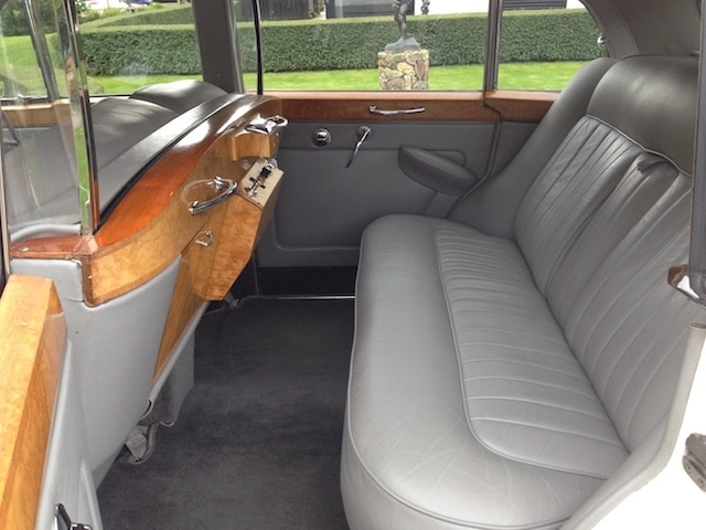 1963 Silver Cloud LWB Rolls Royce Interior