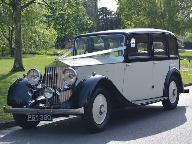 1936 Vintage Rolls Royce Wedding Car Hire London