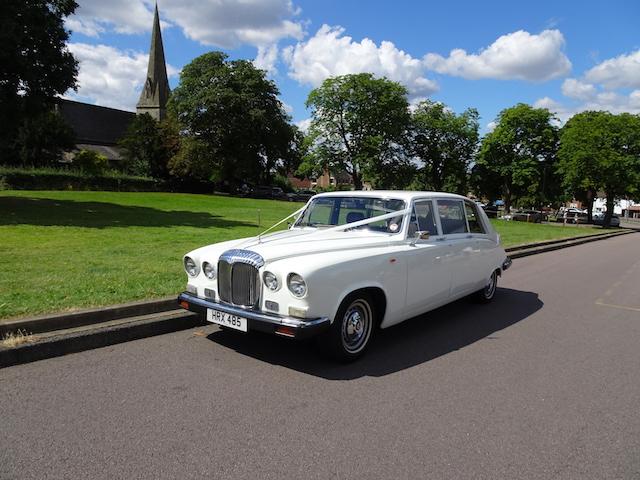 DS420 Daimler Limousine Wedding Car Hire London