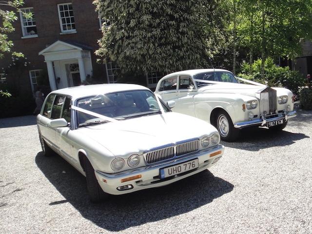 LWB Silver Cloud & X3000 Daimler