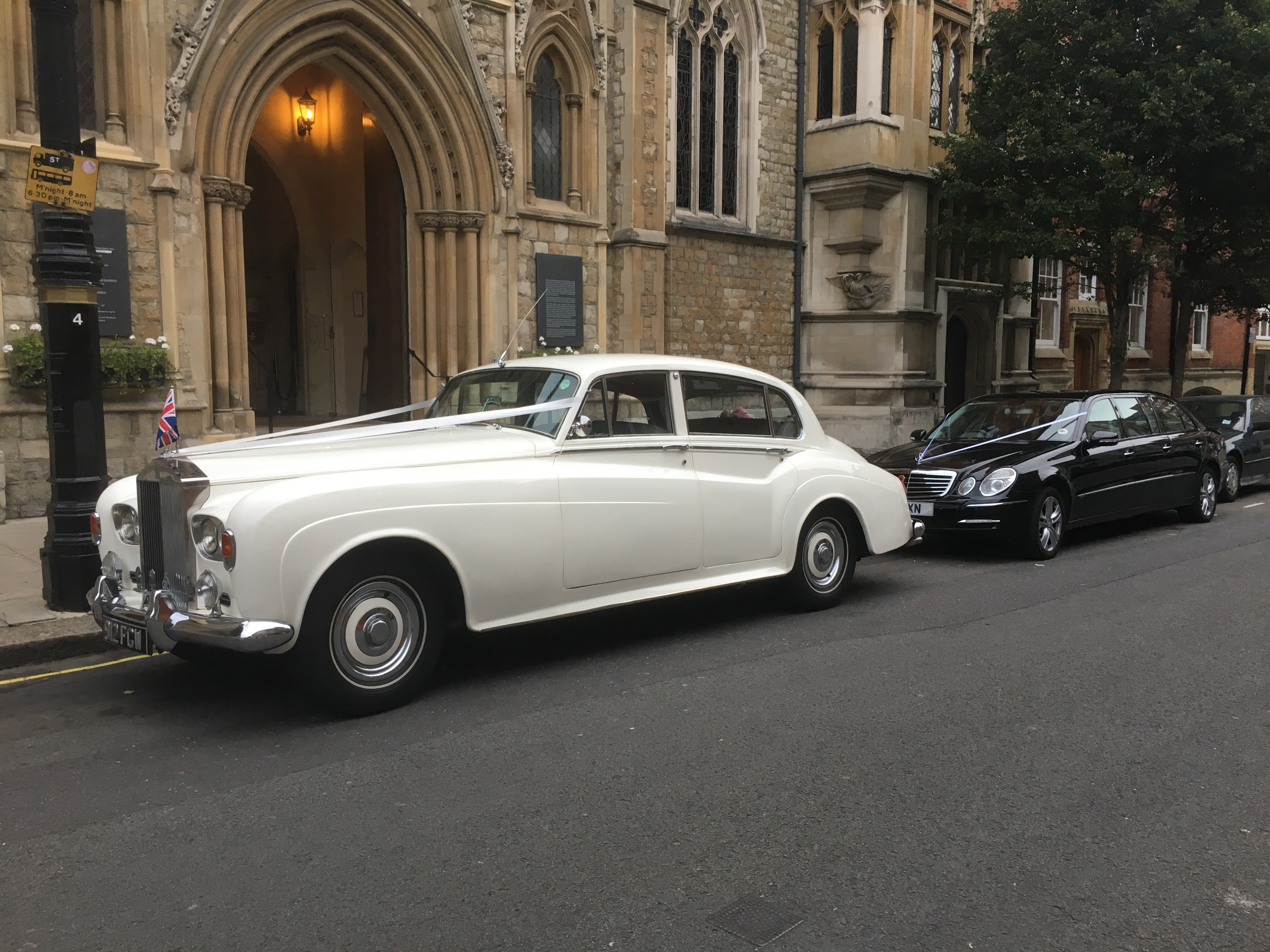 Silver Cloud Rolls Royce and Mercedes