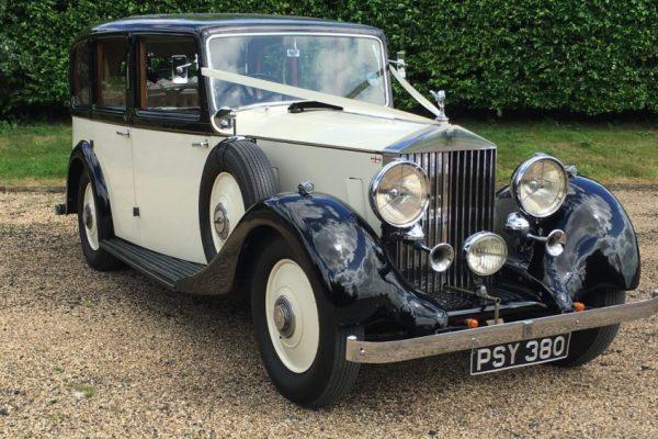 Wedding Car Hire London Vintage Rolls Royce