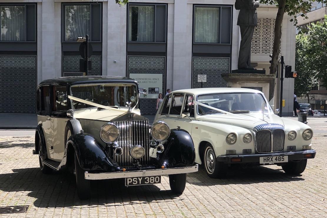 1936 Vintage Rolls Royce Wedding Car Hire London Elegance Wedding Cars